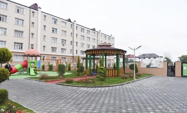 İlham Əliyev Qubada xəstəxana açılışında — FOTO