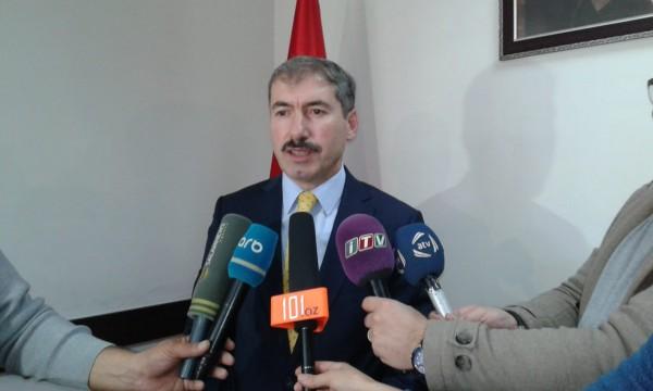 Zeki Öztürk media nümayəndələri ilə görüşüb - ÖZƏL