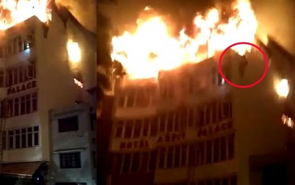 Hindistanda hoteldə yanğın - 9 nəfər öldü + Video