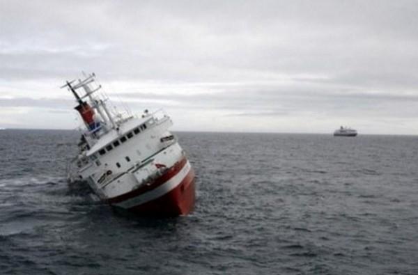 Türkiyədə gəmi batdı - Boğulanlar var