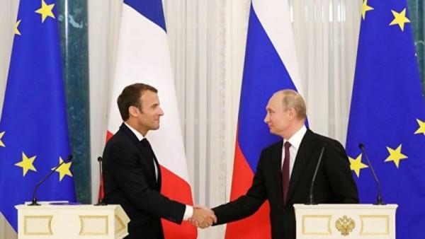 Makron Putinlə görüşü elan etdi