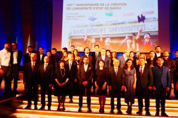 Parisdə BDU-nun 100 illiyi qeyd olunub