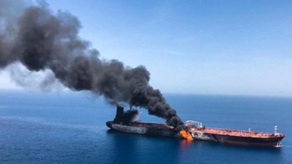 Oman körfəzində tankerlərdən birində partlamamış mina tapıldı