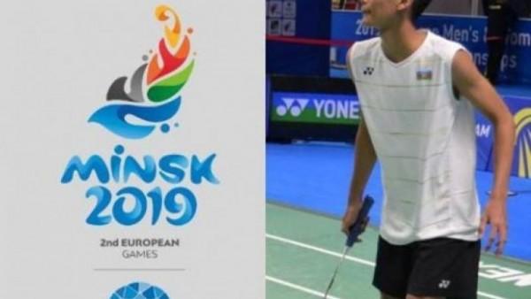 """""""Minsk 2019"""": Azərbaycan badmintonçusu 1/8 finala yüksəldi"""