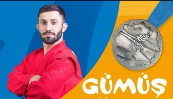 Gəncə İdman Klubunun fəxri üzvü Ağasif Səmədov gümüş medala sahib olub