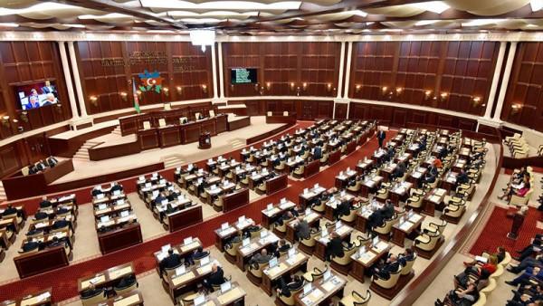 Bir neçə qanun layihəsi Milli Məclisin gündəliyindən çıxarıldı