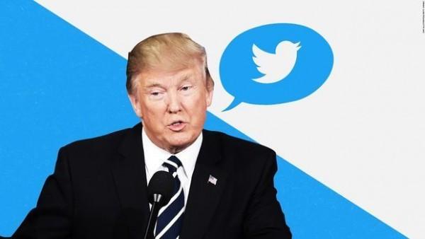 """Məhkəmə Trampa """"Twitter""""də qadağa qoydu"""