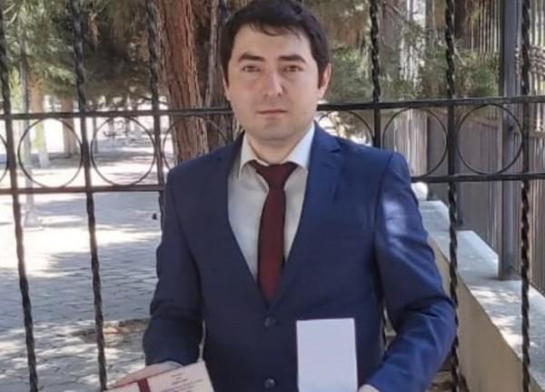 """""""Kəpəz"""" TV-nin əməkdaşı Ayaz Hüseynov yubiley medalı ilə təltif olunub - FOTO"""