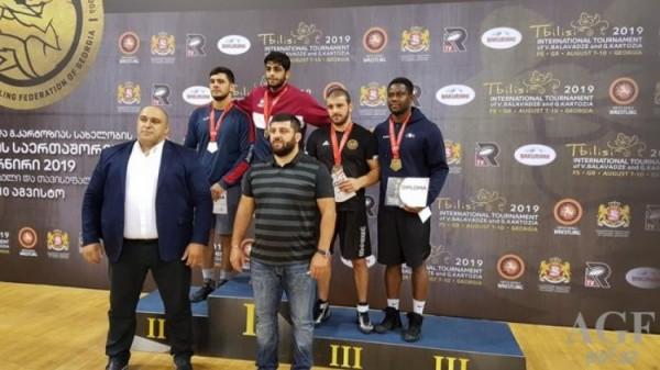 """Güləşçilərimiz """"Qran-Pri"""" turnirinin son günündə beş medal qazanıblar"""