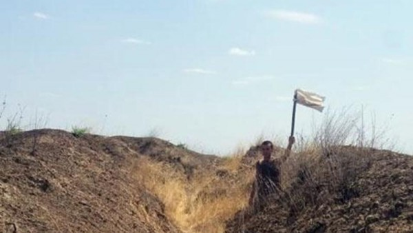Fərarilik etmiş erməni hərbçisi təmas xəttində saxlanıldı - FOTO