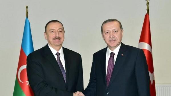 Ərdoğan Azərbaycan Prezidentinə zəng etdi