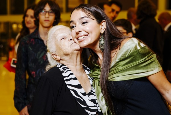 Leyla Əliyeva məşhurlarla qala gecəsində - Fotolar