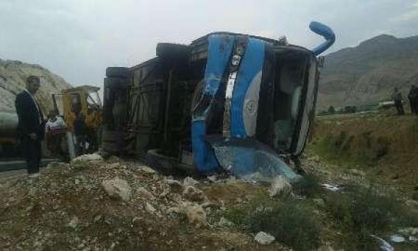 İranda avtobus aşıb, yaralananlar var