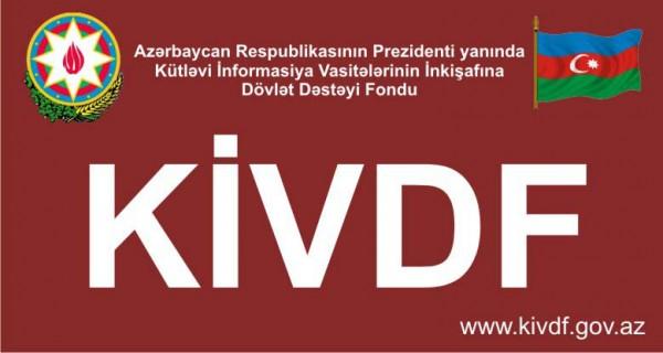 KİVDF fərdi jurnalist yazı müsabiqəsini elan edir