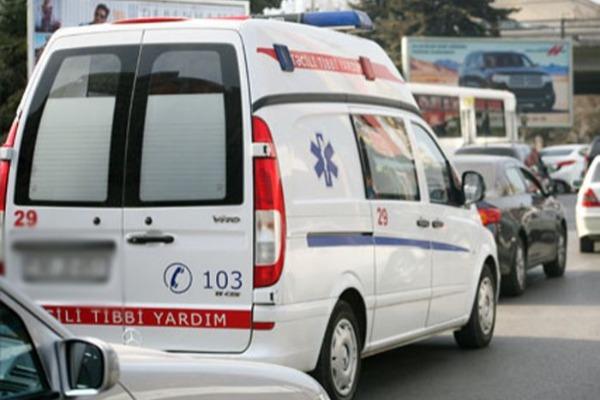 Qaxda PARTLAYIŞ: 4 nəfər yaralandı