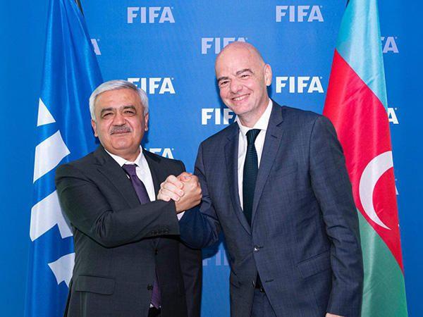 AFFA və FİFA prezidentləri görüşüb