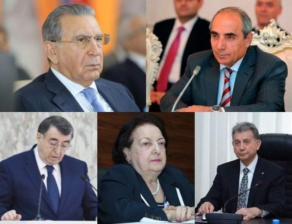 Azərbaycanın yaşı 70-dən çox olan yüksək vəzifəli məmurları - SİYAHI