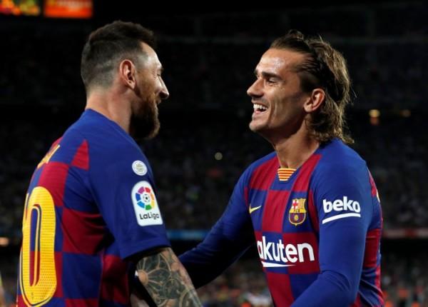 Messi ilə Qrizmann danışmır
