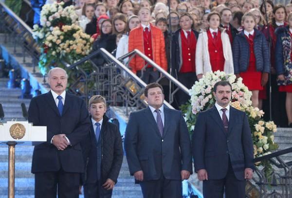 Lukaşenko oğluna vəzifə verdi