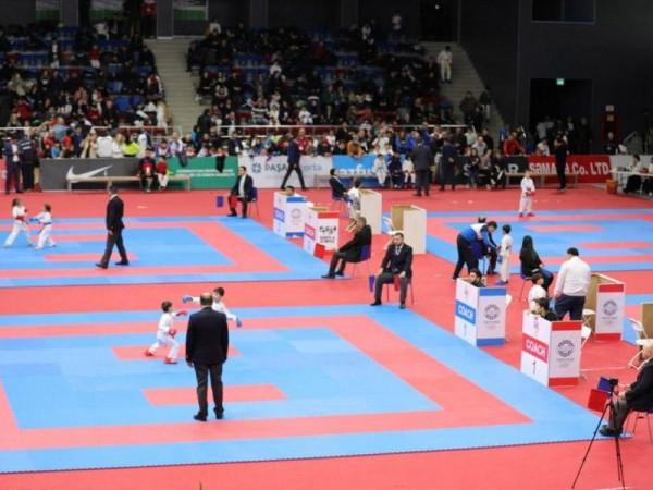 6-9 yaşlı karateçilərin kumite yarışlarının qalibləri müəyyənləşib