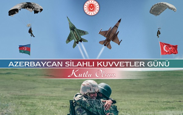 Türkiyə Müdafiə Nazirliyi Azərbaycanı təbrik etdi