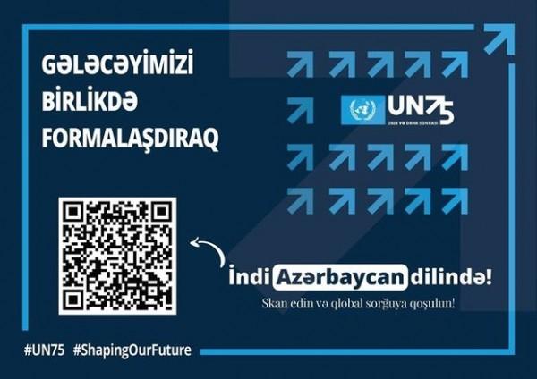 BMT-nin 75 illiyi ilə əlaqədar qlobal sorğu keçirilir: Azərbaycanlılar da iştirak edə bilər