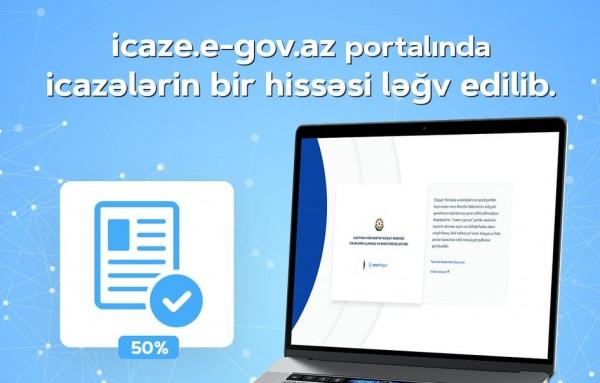 """""""ASAN xidmət"""": İcaze.e-gov.az portalında icazələrin bir hissəsi ləğv edilib"""