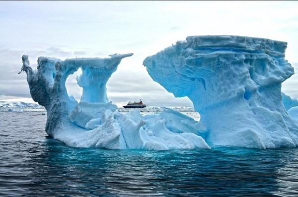 Cənub qütbündə temperatur rekord həddə yüksəlib