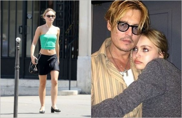Conni Depp 13 yaşlı qızını marixuanaya qonaq edib
