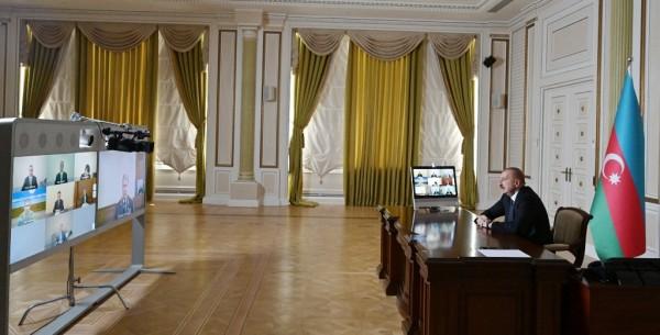 """Prezident: """"Bizim işimiz haqq işidir"""""""