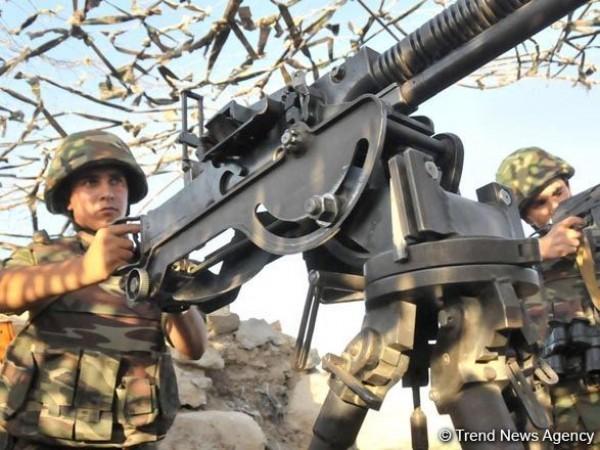 Ermənistan artilleriya qurğularından istifadə etməklə sutka ərzində atəşkəsi 89 dəfə pozdu