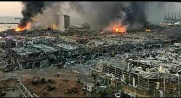 Beyrutda ard-arda güclü partlayışlar, ölənlər və yaralılar var -FOTO