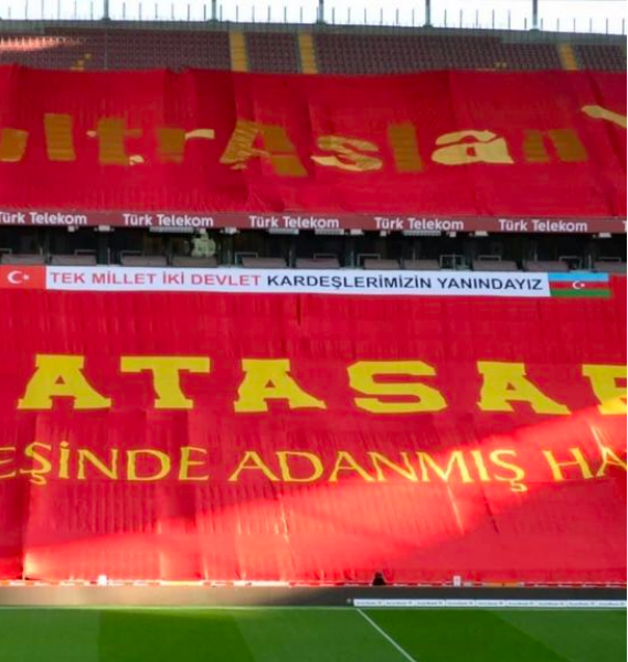 """""""Qalatasaray""""dan Azərbaycan ordusuna dəstək - FOTO"""