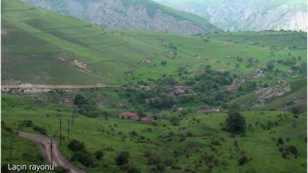 Laçının Ağbulaq kəndindən görüntülər - VİDEO
