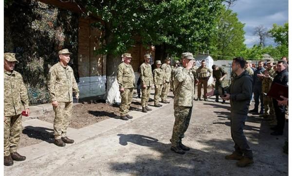 Zelenski Donbassa getdi