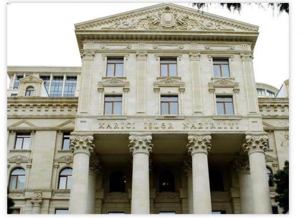Azərbaycan XİN 20 iyun - Ümumdünya Qaçqınlar ilə bağlı bəyanat yayıb
