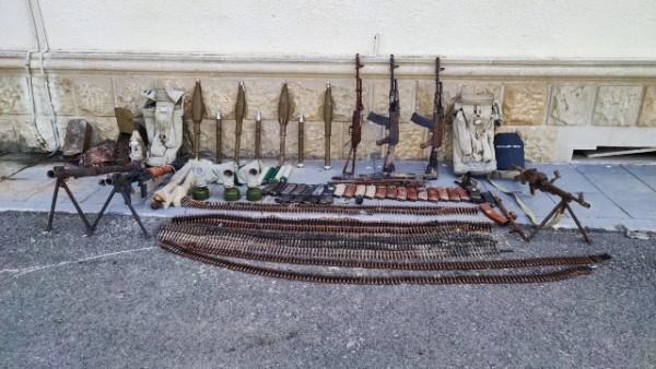Azad edilmiş ərazilərdə silah-sursat aşkarlandı
