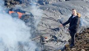 İslandiyada 6000 il sonra oyanan vulkan satışa çıxarılıb