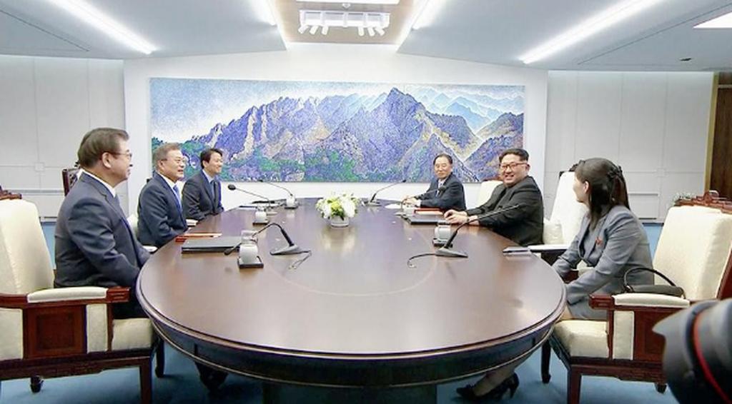 Şimali və Cənubi Koreya liderləri görüşüb