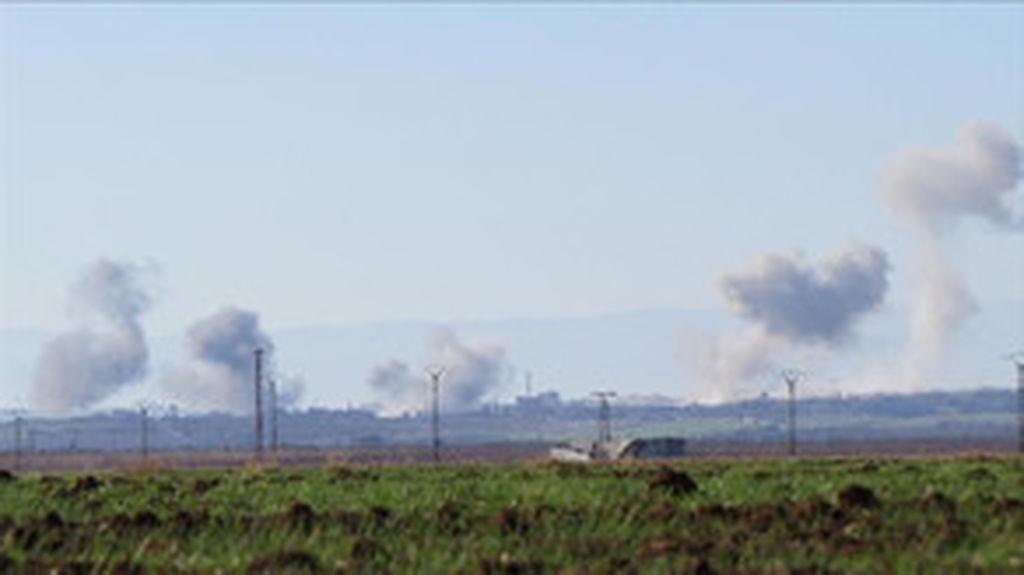 Suriyanın İdlib vilayətinə hava zərbələri endirilib, ölənlər var