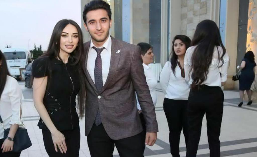 Xalq artistinin oğlu Manana ilə