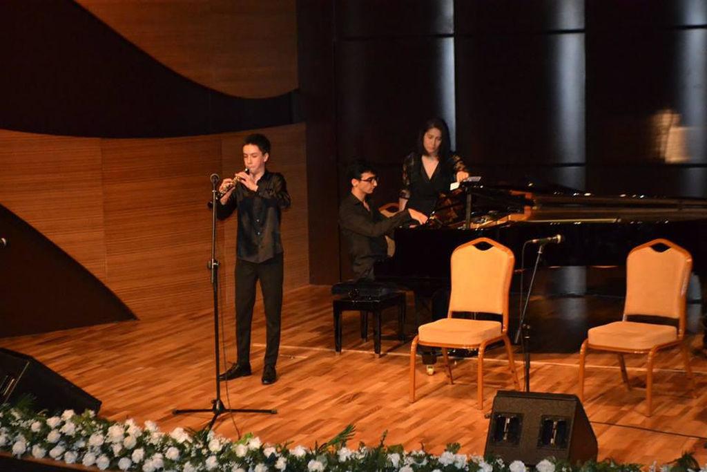 Beynəlxalq Muğam Mərkəzində Azərbaycan Xalq Cümhuriyətinin 100 illiyinə həsr olunmuş konsert keçirilib - FOTO