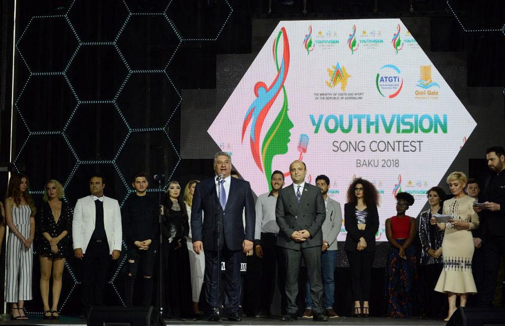 """""""Youthvision 2018"""" III Beynəlxalq Mahnı müsabiqəsinin qalibi bəlli oldu (FOTO)"""
